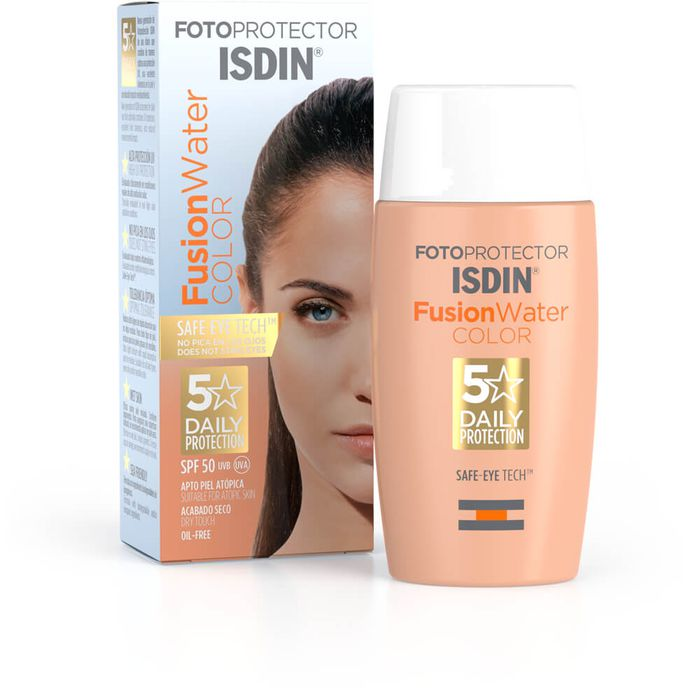 ISDIN Fotoprotector Fusion Water Color Emulsion PF 50