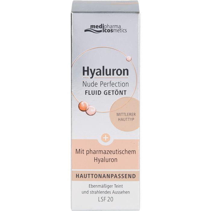 Medipharma Cosmetics HYALURON Nude Perfection getönt.Fluid LSF 20 medi.