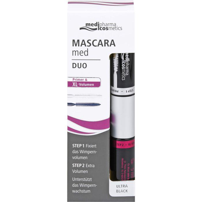 Medipharma Cosmetics MASCARA med Duo Primer & XL Volumen