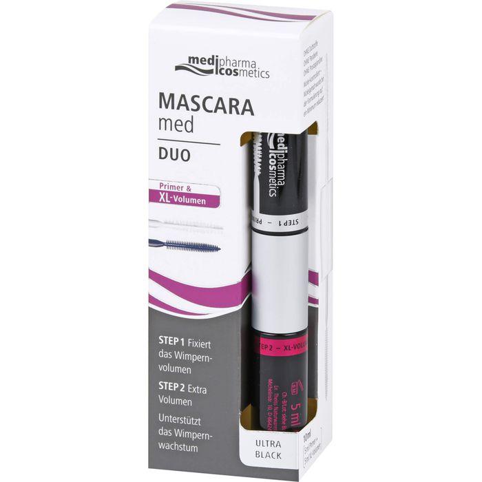 MASCARA med Duo Primer & XL Volumen