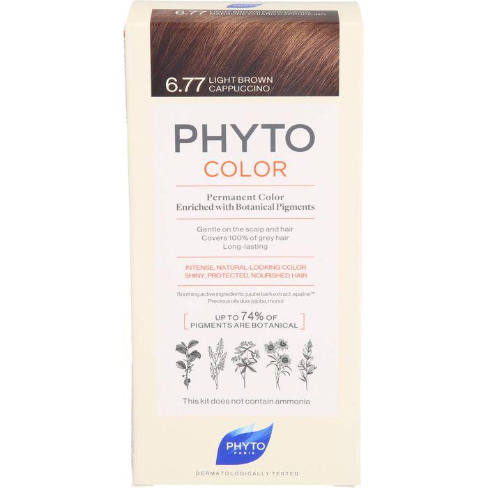 PHYTO PHYTOCOLOR 6.77 hellbraun Cappuccino