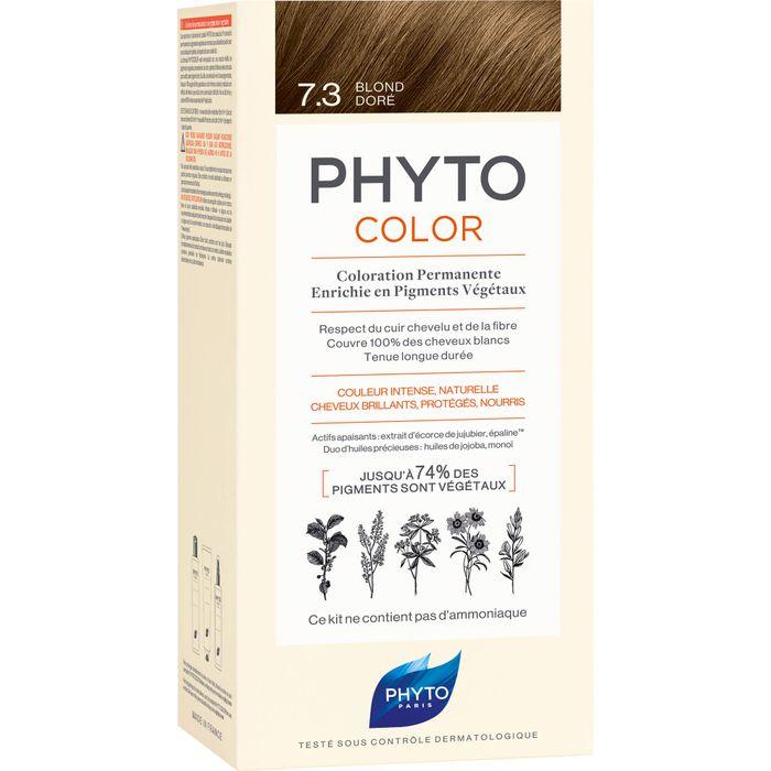 PHYTO PHYTOCOLOR 7.3 goldblond ohne Ammoniak