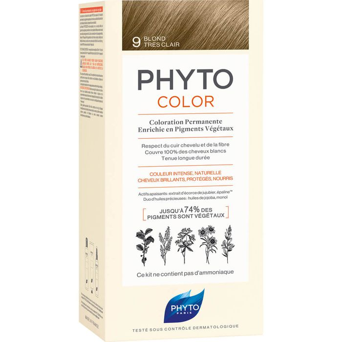 PHYTO PHYTOCOLOR 9 sehr helles blond ohne Ammoniak
