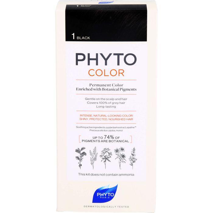 PHYTO PHYTOCOLOR 1 schwarz ohne Ammoniak