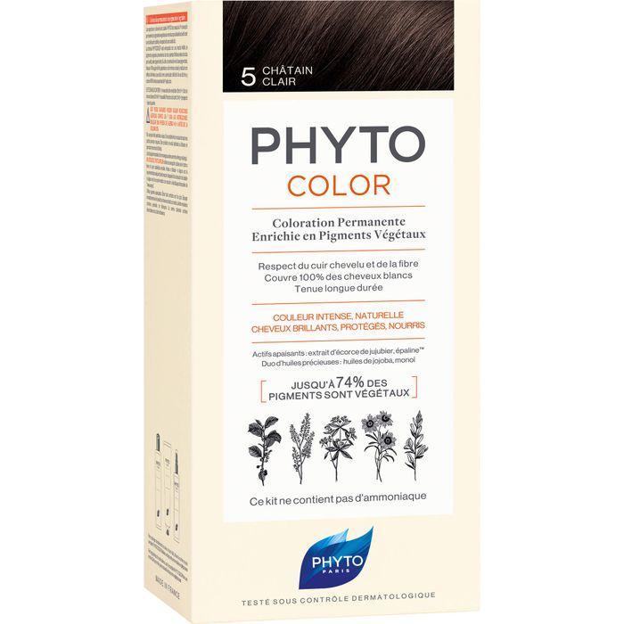 PHYTO PHYTOCOLOR 5 helles braun ohne Ammoniak