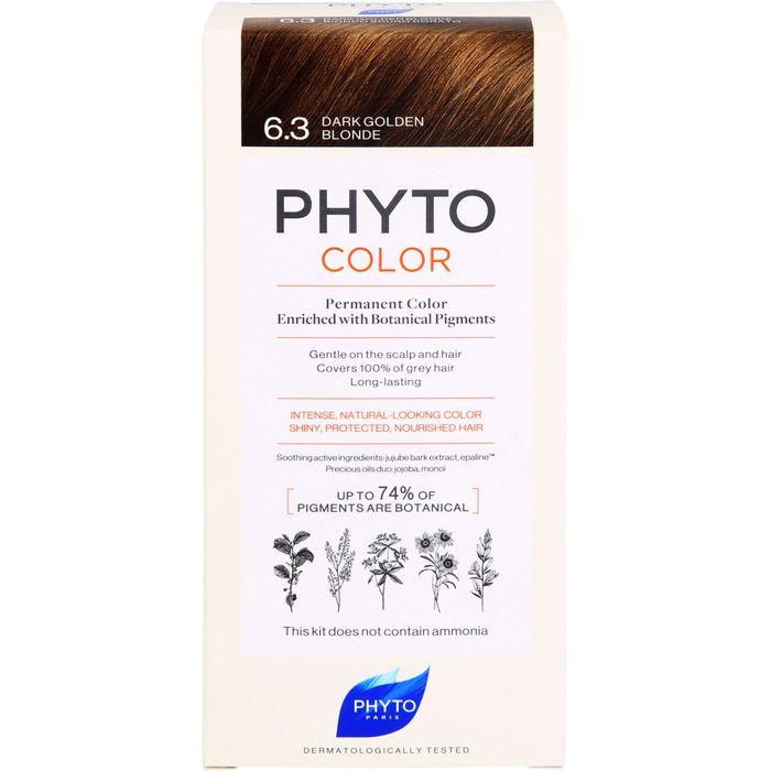 PHYTO PHYTOCOLOR 6.3 dunkles Goldbraun ohne Ammoniak