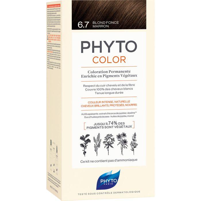 PHYTO PHYTOCOLOR 6.7 dunkelblond Schokolade o.Ammoniak