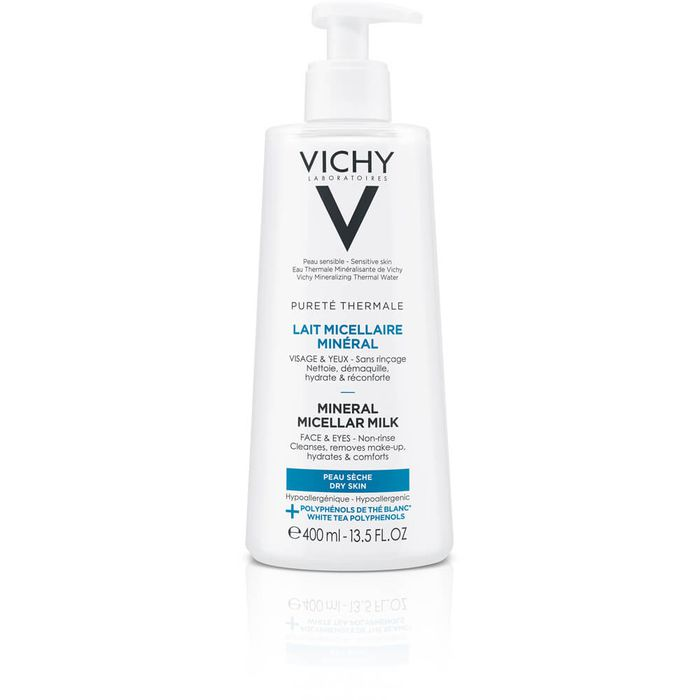 VICHY PURETE Thermale Mineral Mizellen-Milch trockene Haut