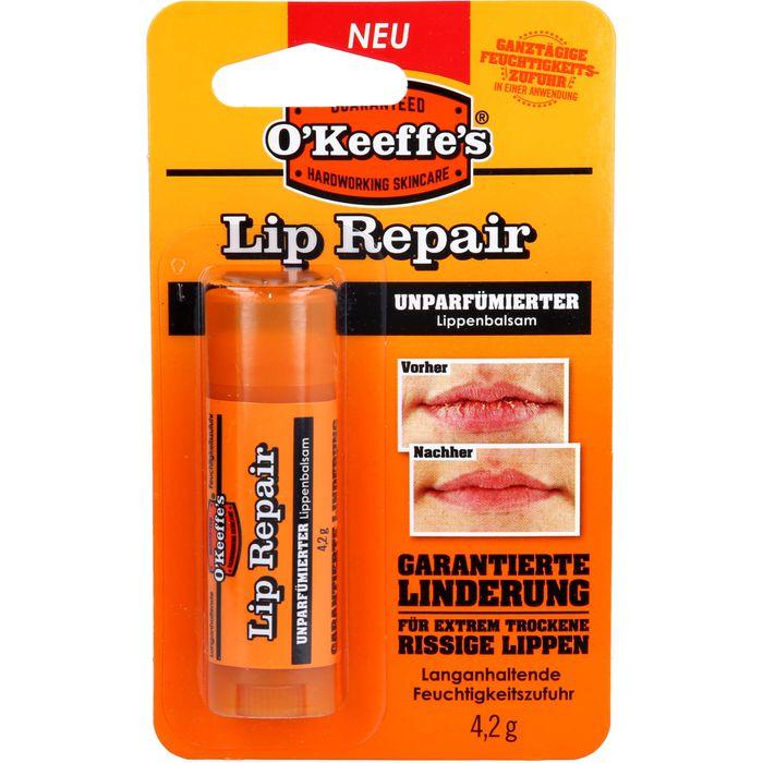 O KEEFFE'S Lip Repair Lippenbalsam unparfümiert