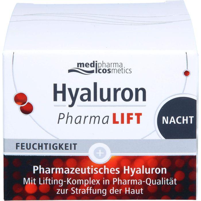 Medipharma Cosmetics HYALURON PHARMALIFT Nacht Creme