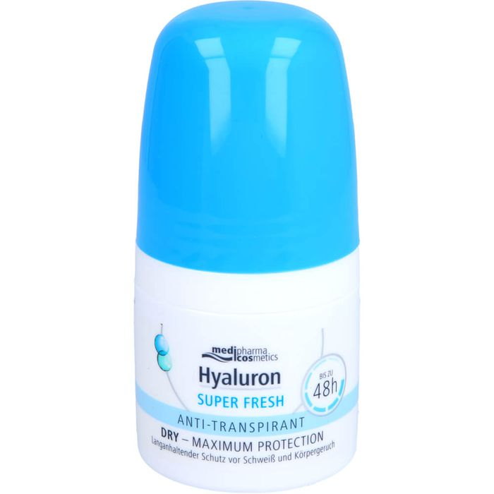 Medipharma Cosmetics HYALURON DEO Roll-on super fresh