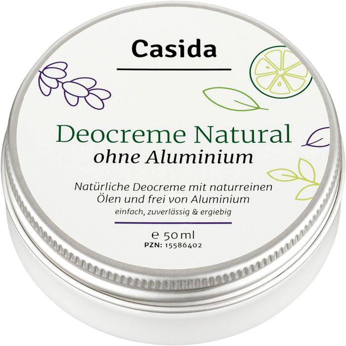Casida DEO CREME ohne Aluminium natural