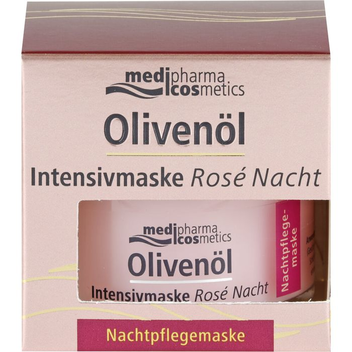 Medipharma Cosmetics  Olivenöl Intensivmaske Rose Nacht