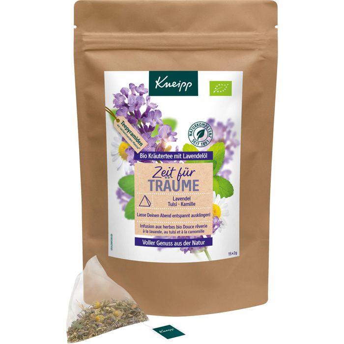 KNEIPP Bio Kräutertee Zeit für Träume mit Lavendel