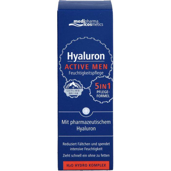 Medipharma Cosmetics HYALURON ACTIVE MEN Feuchtigkeitspflege Creme