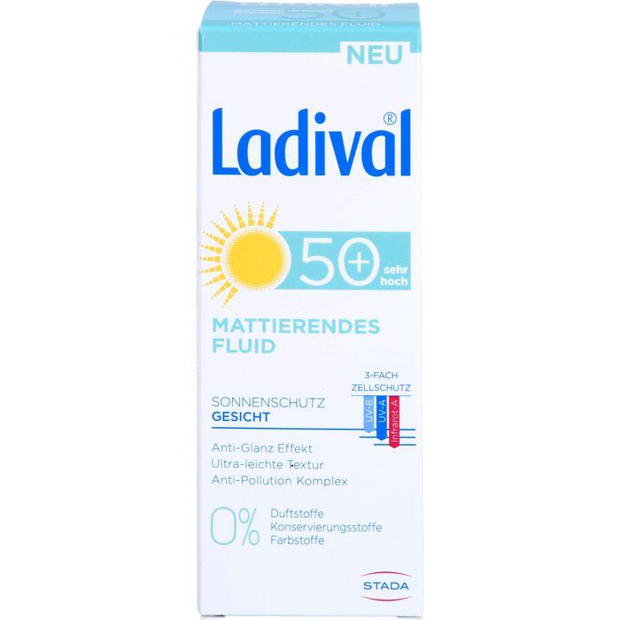 LADIVAL Sonnenschutz Gesicht Fluid matt.LSF 50+