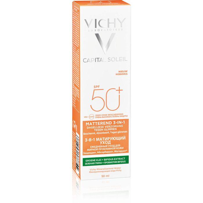 VICHY CAPITAL Soleil mattierende Sonnenpflege Creme LSF 50+