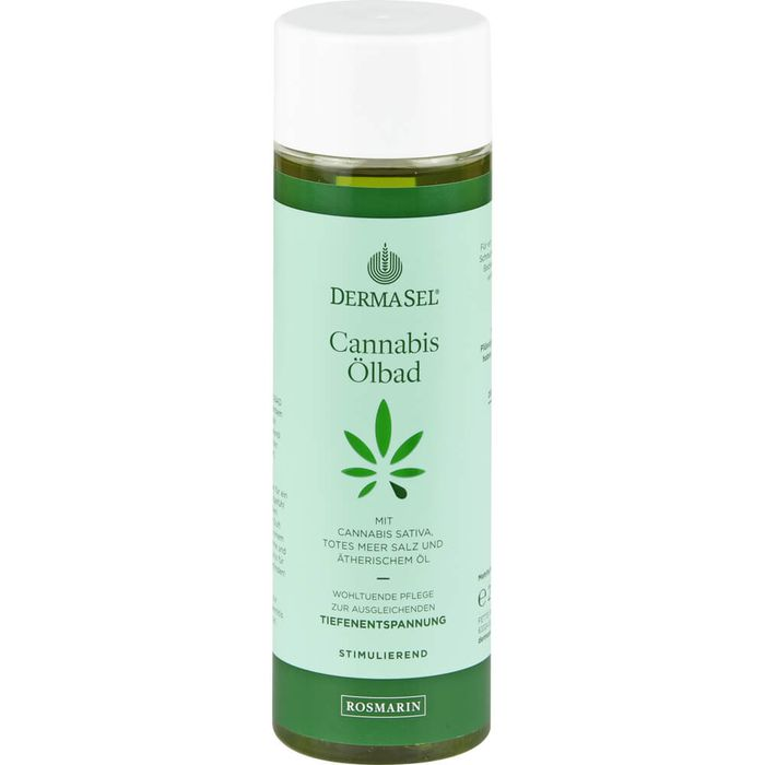 DERMASEL Cannabis Ölbad Limited Edition Rosmarin