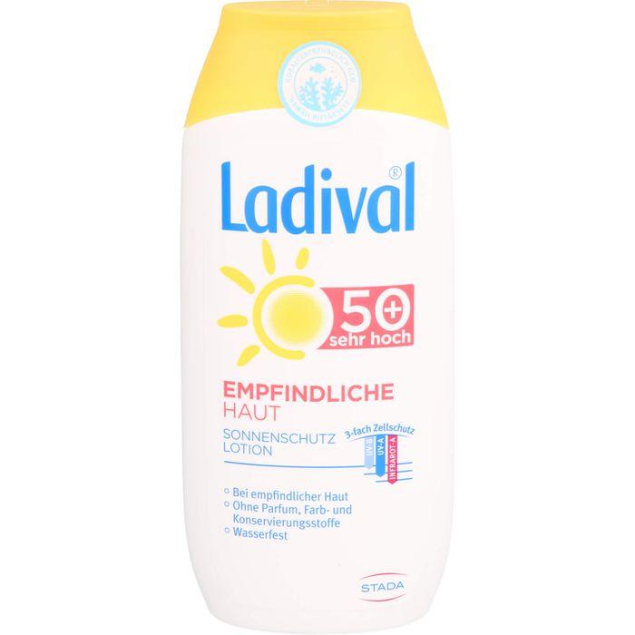 LADIVAL empfindliche Haut Lotion LSF 50+
