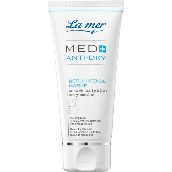 LA MER MED+ Anti-Dry beruhigende Maske o.Parfum