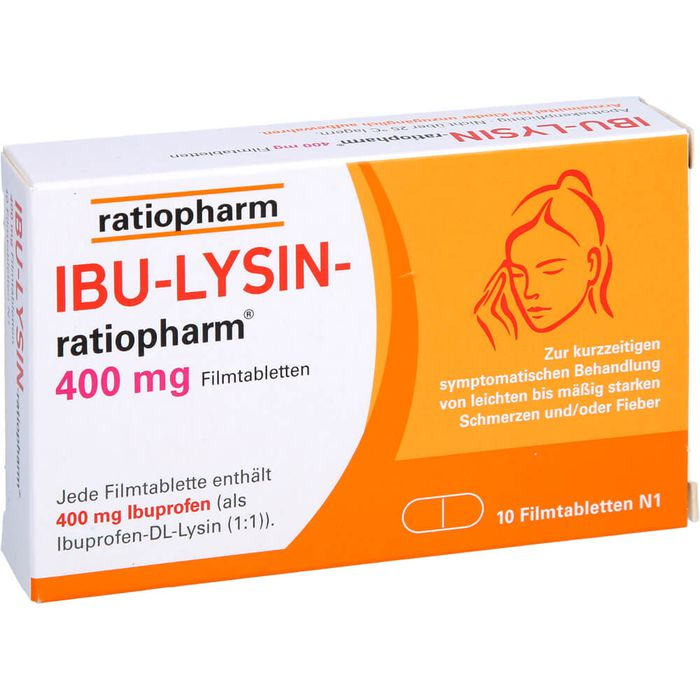 IBU-LYSIN-ratiopharm 400 mg Filmtabletten