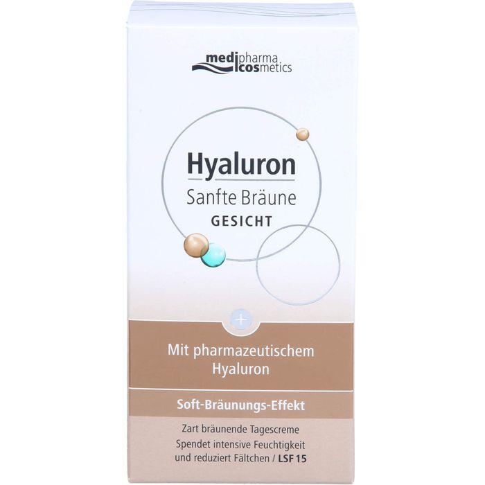 Medipharma Cosmetics Hyaluron Sanfte Bräune Gesicht