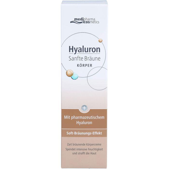 Medipharma Cosmetics HYALURON SANFTE Bräune Körper