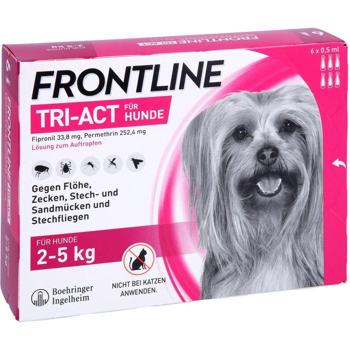 FRONTLINE Tri-Act Lsg.z.Auftropfen f.Hunde 2-5 kg