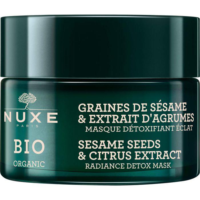 NUXE Bio Sesam-Samen & Zitrusextrakt entgiftende Maske für neue Leuchtkraft