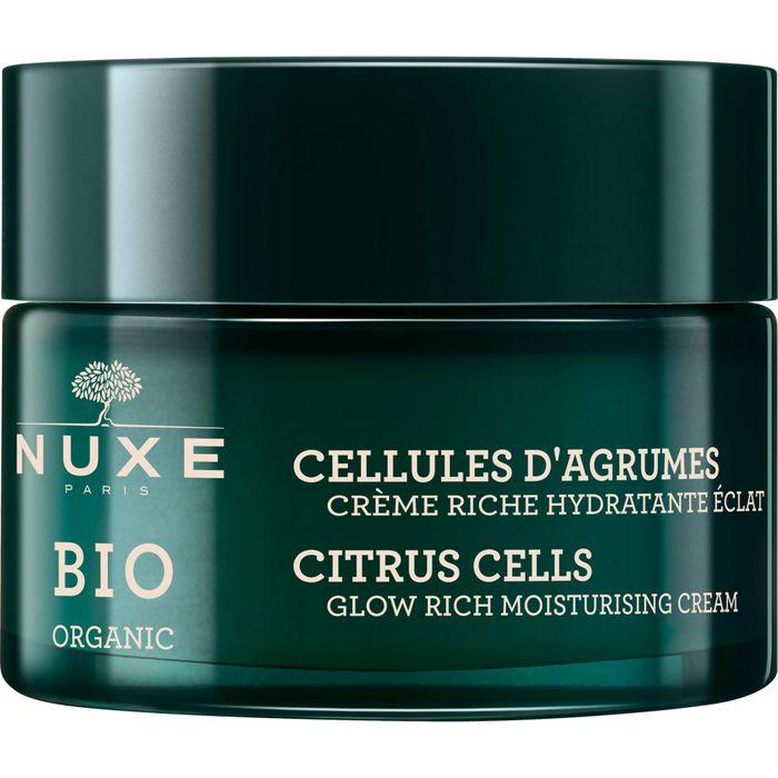 NUXE Bio Zitruszellen reichhaltige Feuchtigkeitscreme