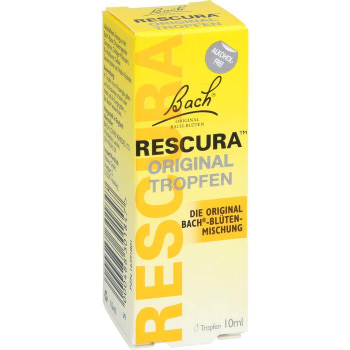 BACHBLÜTEN Original Rescura Tropfen alkoholfrei
