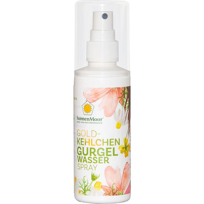 SonnenMoor GURGELWASSER Spray mit Alkohol