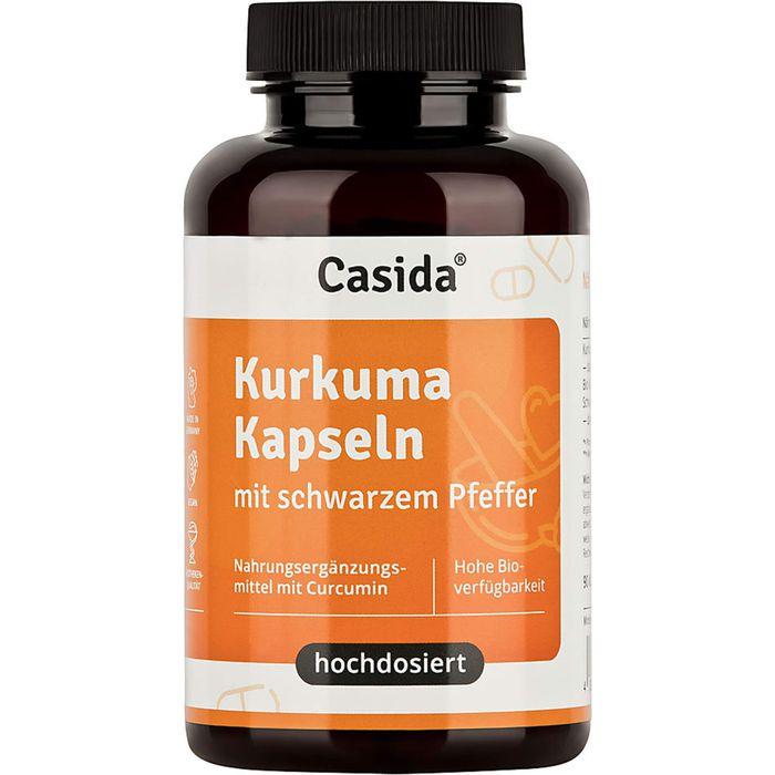 Casida KURKUMA KAPSELN+Pfeffer Curcumin hochdosiert