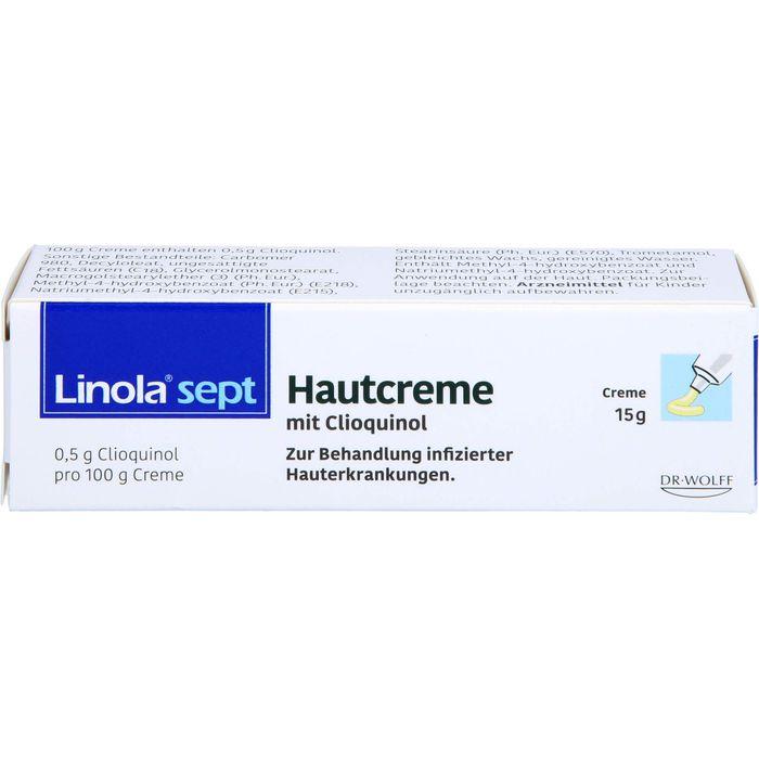 LINOLA sept Hautcreme mit Clioquinol