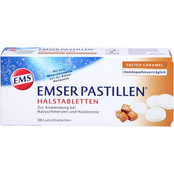 EMSER Pastillen Halstabletten salted Caramel