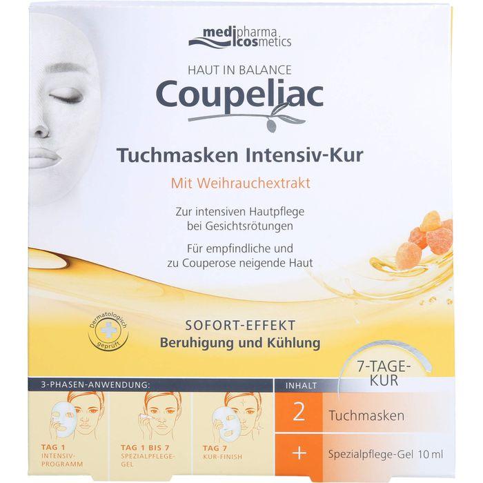 Medipharma Cosmetics HAUT IN BALANCE Coupeliac Tuchmasken Intensiv-Kur