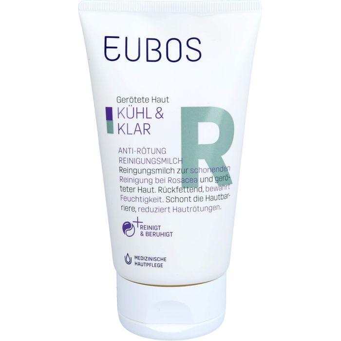 EUBOS KÜHL & KLAR Anti-Rötung Reinigungsmilch