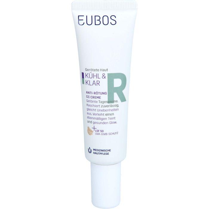 EUBOS KÜHL & KLAR Anti-Rötung CC Creme LSF 50
