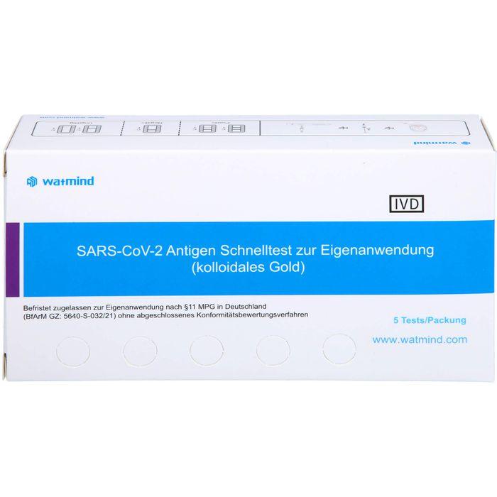SARS-COV-2 Ag Heimtest Rachenabstrich/Speichel