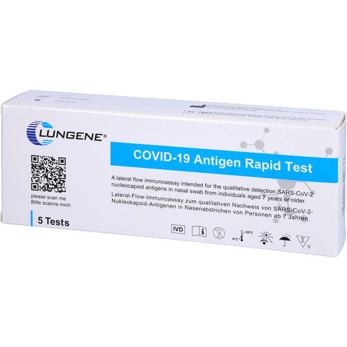 CLUNGENE COVID-19 Antigen Rapid Test Laient.Nase